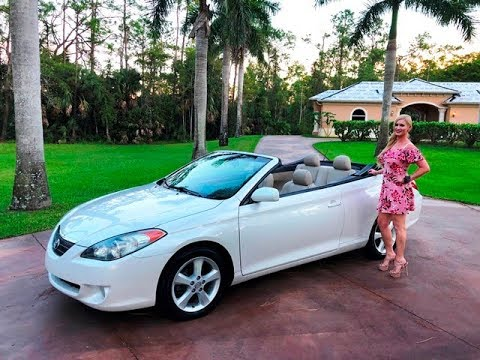 2006 Toyota Solara Sle Convertible Review W Mn For Saly By Autohaus Of Naples