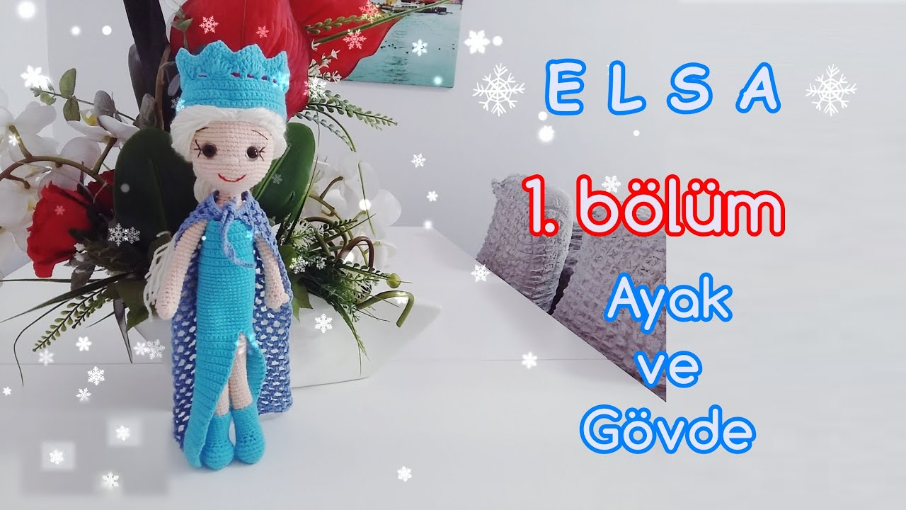 Amigurumi Örgü Oyuncak Modelleri – Karlar Ülkesi Kraliçesi Elsa ...   720x1280