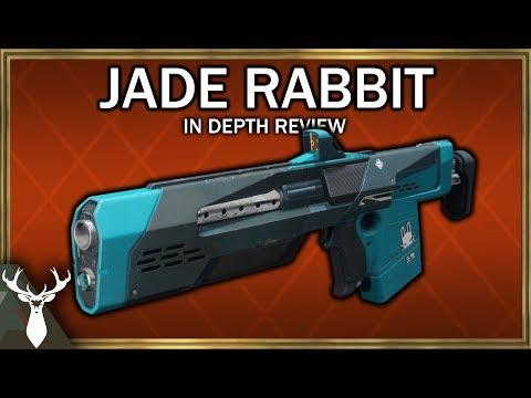 Destiny 2 - Jade Rabbit (Exotic Kinetic Scout Rifle) Curse of Osiris