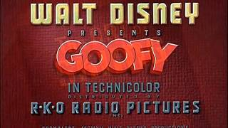 "Goofy - ""The Art Of Skiing"" (1941) - recreation titles"