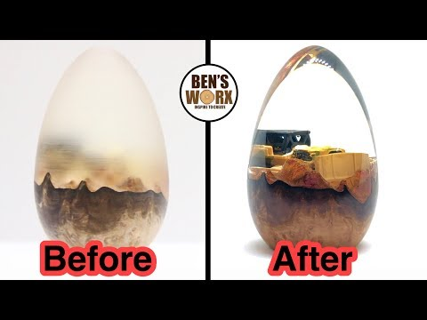 How to Polish Resin Tutorial