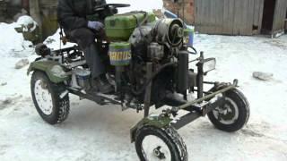 traktorek sam silnik v2 diesel