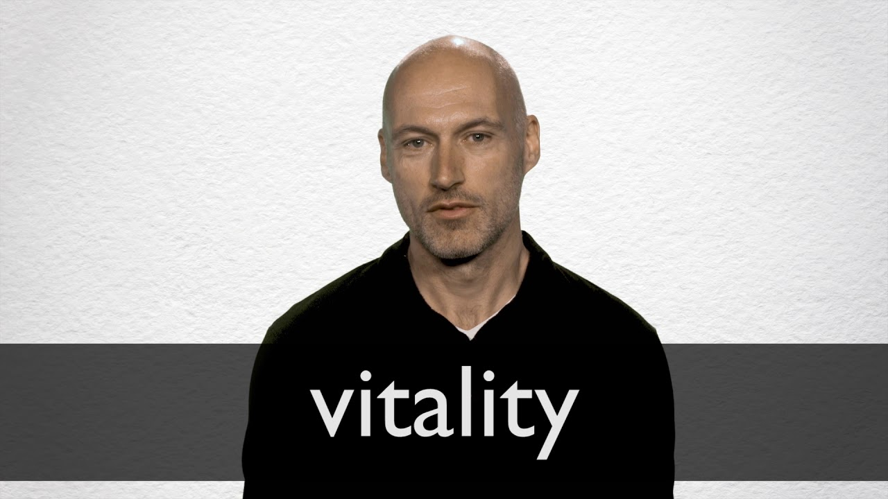 Vitality Definition And Meaning Collins English Dictionary