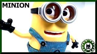 "Интерактивная игрушка Миньон / Deluxe Despicable me 2 Minion Dave 9"" от Thinkway Toys обзор"