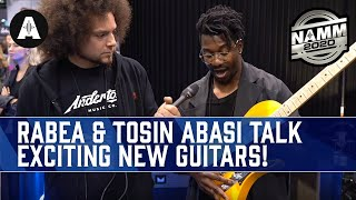 Tosin Abasi Adds Production Models to the Abasi Concepts Guitar Range! - NAMM 2020