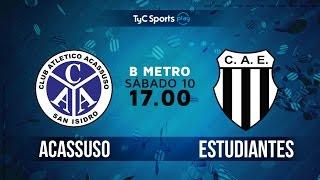 Acassuso vs Club Atlético Est. full match