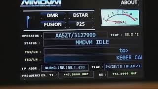 DV Mega, Pi-Star, MMDVM - Cerrocosocommunitycollege