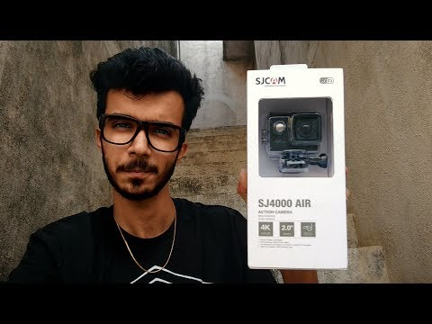 SjCam Sj4000 AIR 4K Rs 3,500 Unboxing & Full Review | is it the best budget action camera