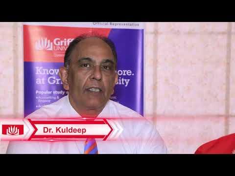 Testimonial of Dr Kuldeep Faculty Member Griffith University