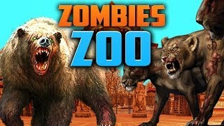 ZOMBIE ZOO ★ Left 4 Dead 2 (L4D2 Zombie Games)