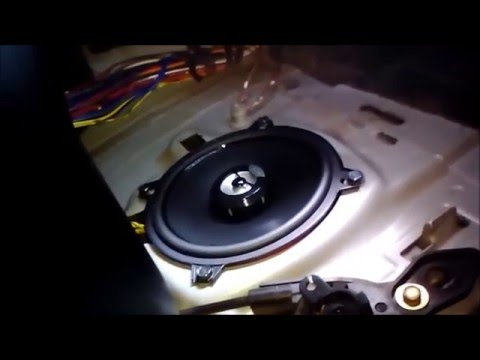 Bmw Z3 Quot Abz Quot Front Speakers Upgrade Test Hertz Dcx130 3