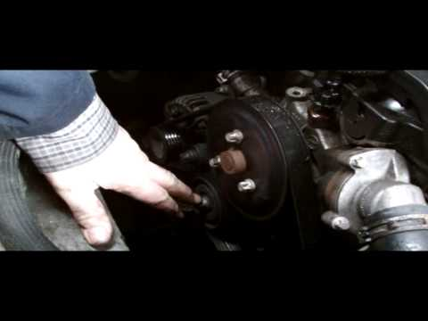 VAUXHALL ASTRA H WATER PUMP REMOVAL - YouTube