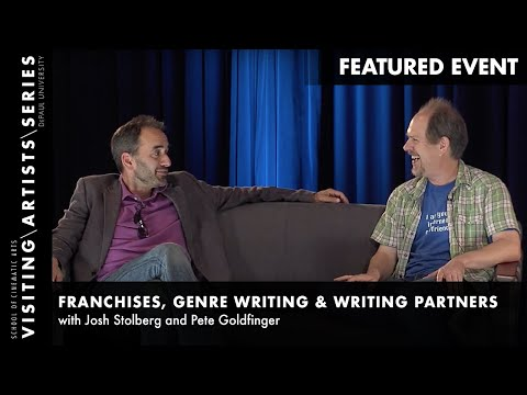 Genre Writing, Josh Stolberg and Pete Goldfinger Page One Writers' Conference 2014 Part 15