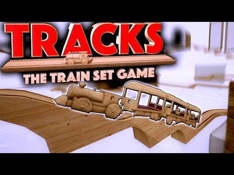 BEAUTIFUL TOY TRAIN SIMULATOR! - Tracks - The Train Set Game Gameplay First Look