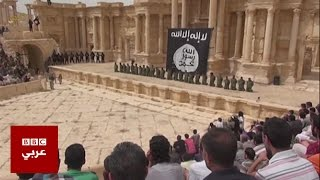 """بي بي سي ترصد حجم الدمار في مدينة تدمر بعد طرد تنظيم """"الدولة الإسلامية"""" منها"""