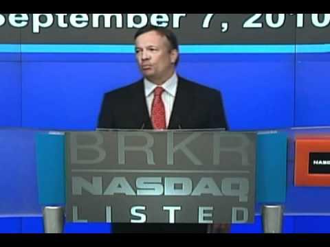 Bruker Corporation NASDAQ Opening Bell - 9/7/10