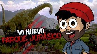 MI NUEVO PARQUE JURÁSICO ⭐️ Prehistoric Kingdom | iTownGamePlay