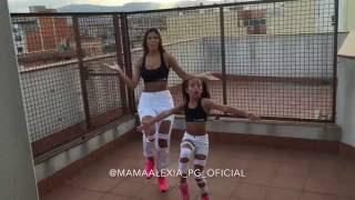 ALEXIA & BRENDA dancing ALINGO P-SQUARE