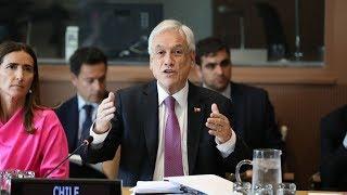 """""""Debemos poner fin a este régimen de Maduro"""": Sebastián Piñera, presidente de Chile"""