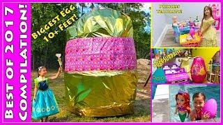 Best Disney Princess Egg Surprise Opening Toys Compilation for Kids!