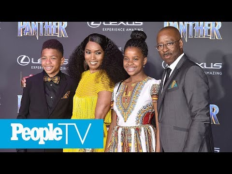 Angela Bassett Says Her Kids Have Faced Racism & Bullying | PeopleTV | Entertainment Weekly