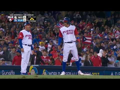 WBC Baseball Highlights: Netherlands-Puerto Rico, Championship Round