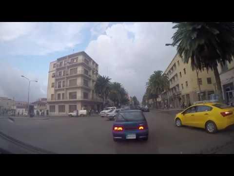 Asmara City Drive - Asmara, Eritrea 2017