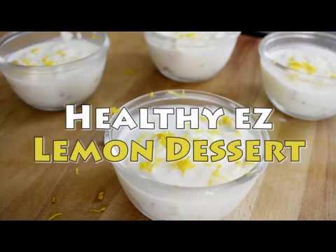 EZ RECIPE - HEALTHY EZ LEMON DESSERT
