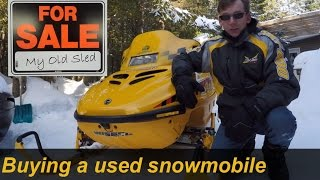 Buying a Used Snowmobile - S1E#10