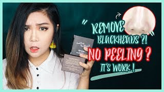 how to Remove Blackhead WITHOUT Peeling Off!  Ciracle Goodbye Blackhead Review  thechency