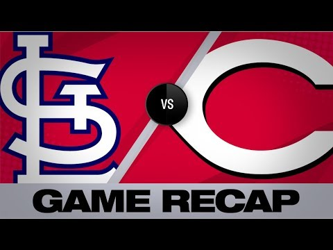 Aquino's 3-run HR powers Reds to win | Cardinals-Reds Game Highlights 8/17/19