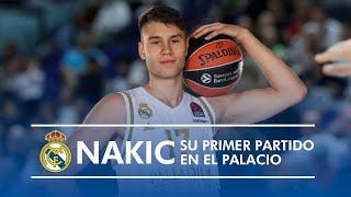 El primer partido de Mario NAKIC en el Palacio
