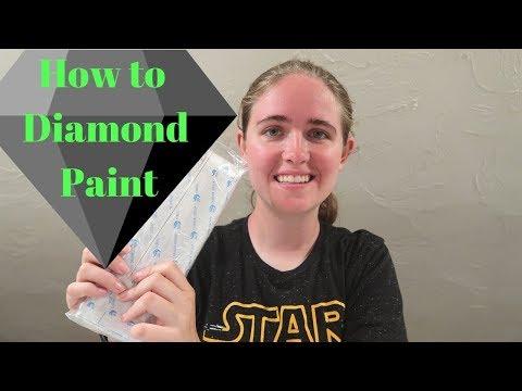 Diamond Painting Tutorial | Disney Castle