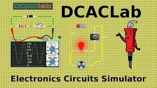 DCACLab - онлайн симулятор электрических схем