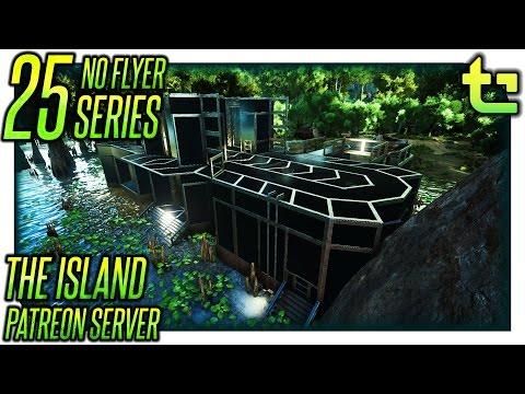 Ark The Island || No Flyer E25 - Swamp Base: The Actual Base Castration || TimmyCarbine