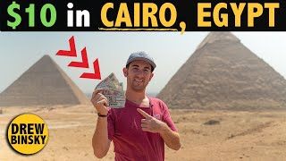 What Can $10 Get in CAIRO, EGYPT? (10 items!)