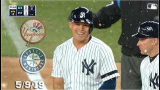 New York Yankees Highlights: vs Seattle Mariners | 5/9/19