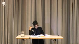 Avital Ronell. Walking as a philosophical act. 2014