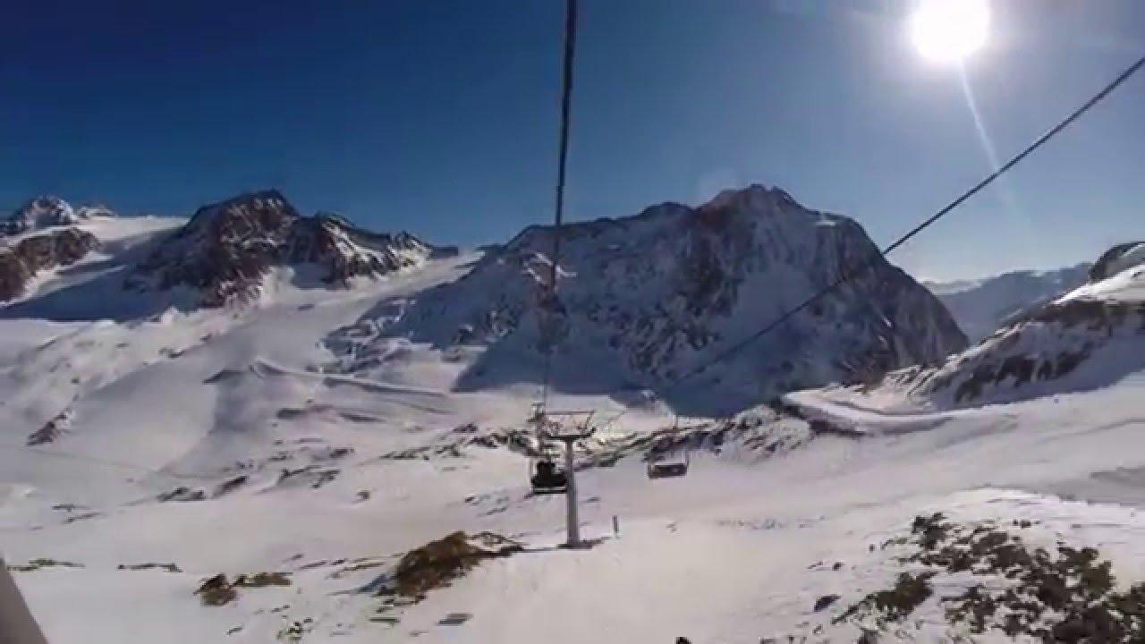 Snowboard januar 2016 schnalstal val senales gopro hd