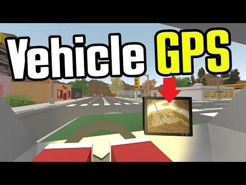 Unturned - Vehicle GPS & Saddlebags!! (Unturned Mod Showcase)