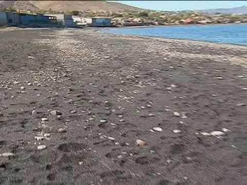 Las Playas Negras De Santa Rosalía
