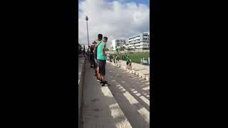 شعارات جمهور الهلال الناظوري داخل الملعب ULTRA HILAL NADOR 2017 Video