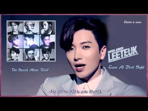 Super Junior (슈퍼주니어) - Love At First Sight (첫눈에 반했습니다) k-pop [german Sub] The Special Album Devil