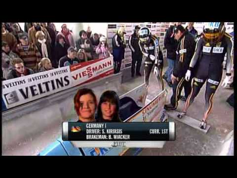 Womens Bobsleigh/Bobsled Winterberg 2007