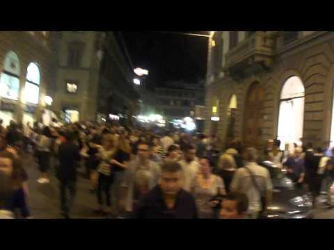 Vogue's Shopping Night Out in Florence