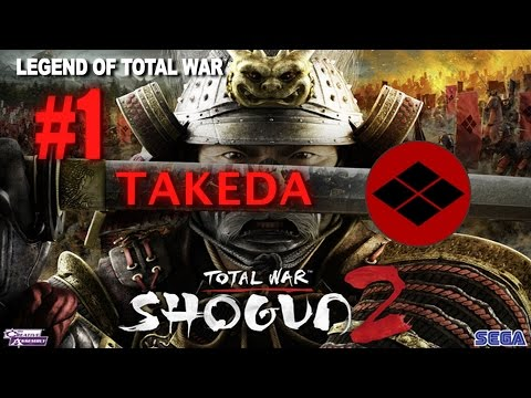 Total War: Shogun 2 Legendary Takeda #1