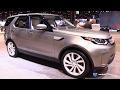 2017 Land Rover Discovery HSE LUX - Exterior Interior Walkaround - 2017 Chicago Auto Show