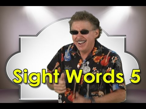 Sight Words 5   Sight Words Kindergarten   High Frequency Words   Popcorn Words   Jump Out Words