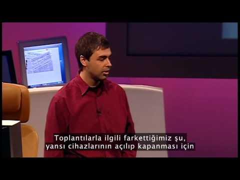 Sergey Brin ve Larry Page ile Google üzerine