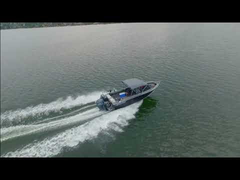 Chasing A Boat On Lake Whatcom, Bellingham, WA.
